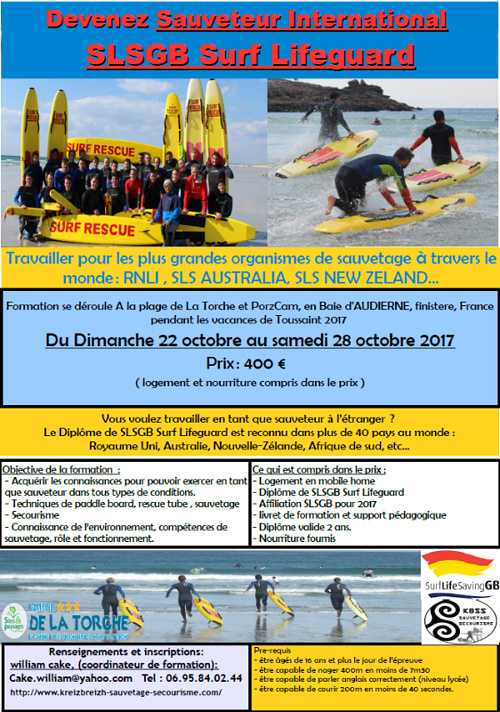 Formation Sauveteur international 0